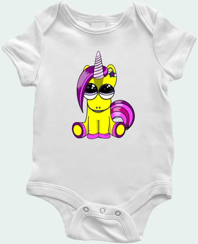Body Bébé bébé licorne par BOUTIQUE DU BARBU