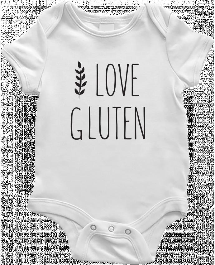 Body Bébé I love gluten by Ruuud par Ruuud