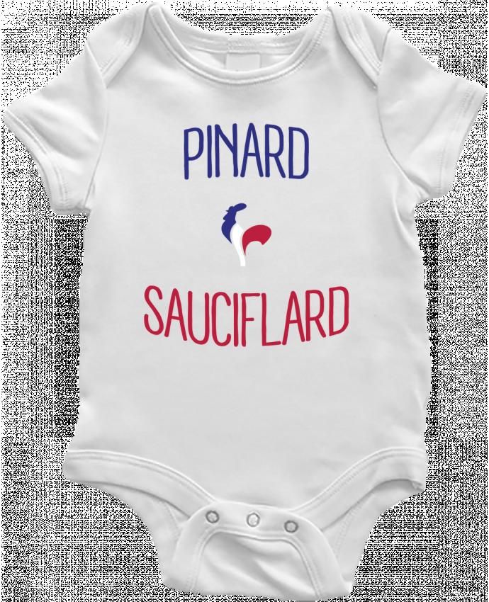 Body Bébé Pinard Sauciflard par Freeyourshirt.com