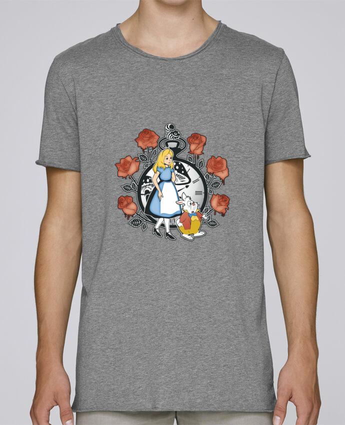 T-shirt Homme Oversized Stanley Skates Time for Wonderland par Kempo24
