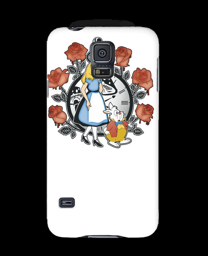Coque 3D Samsung Galaxy S5 Time for Wonderland par Kempo24