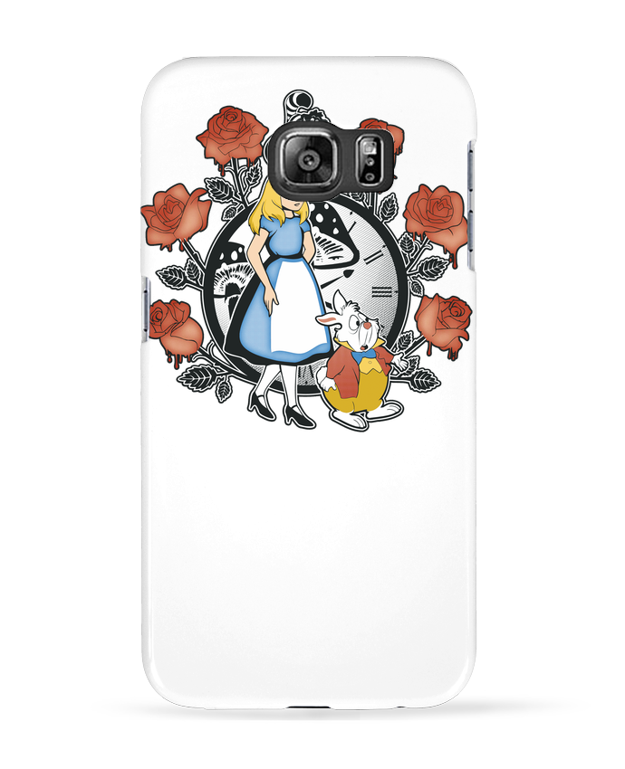 Coque 3D Samsung Galaxy S6 Time for Wonderland - Kempo24