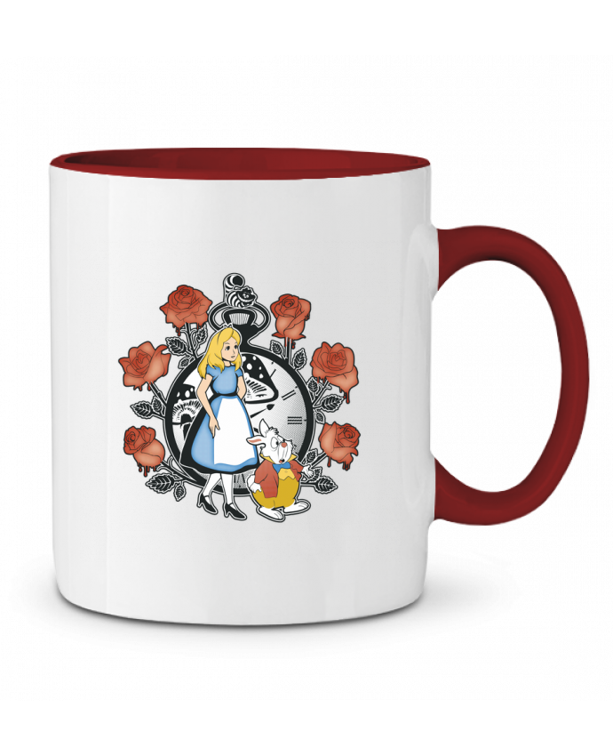 Mug en Céramique Bicolore Time for Wonderland Kempo24