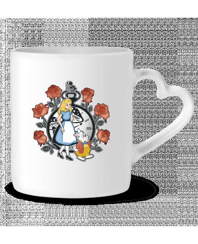 Mug Coeur Time for Wonderland par Kempo24