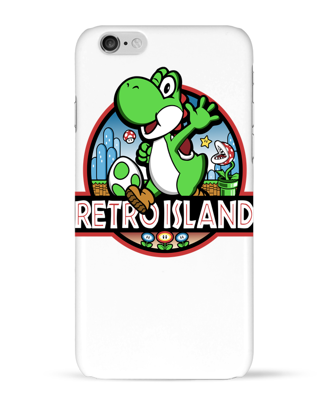 Coque 3D Iphone 6 Retro Park par Kempo24