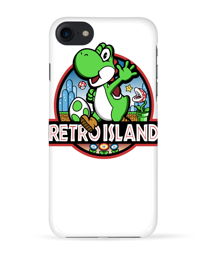 COQUE 3D Iphone 7 Retro Park de Kempo24