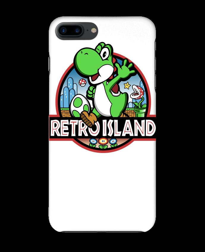Coque 3D Iphone 7+ Retro Park par Kempo24