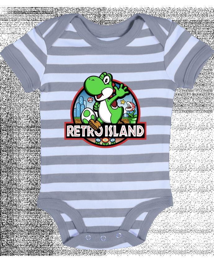 Body Bébé à Rayures Retro Park - Kempo24