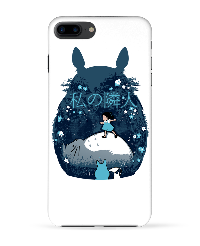 Coque 3D Iphone 7+ My neighbour night par Kempo24