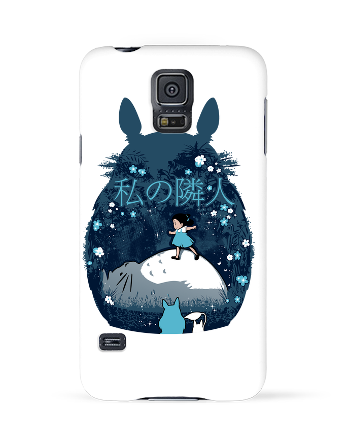 Coque 3D Samsung Galaxy S5 My neighbour night par Kempo24