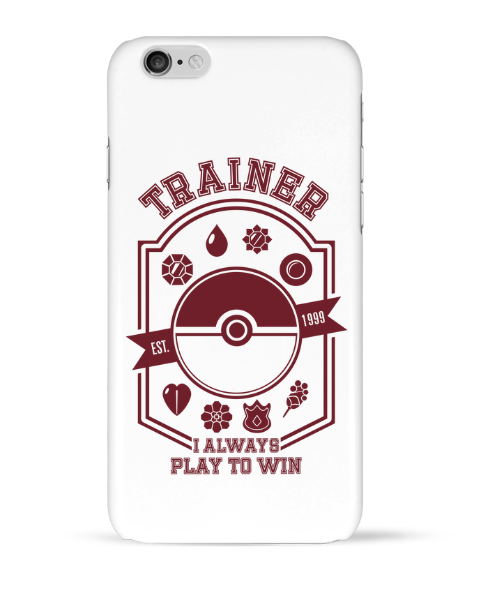 Coque iPhone 6 Trainer since 1999 par Kempo24