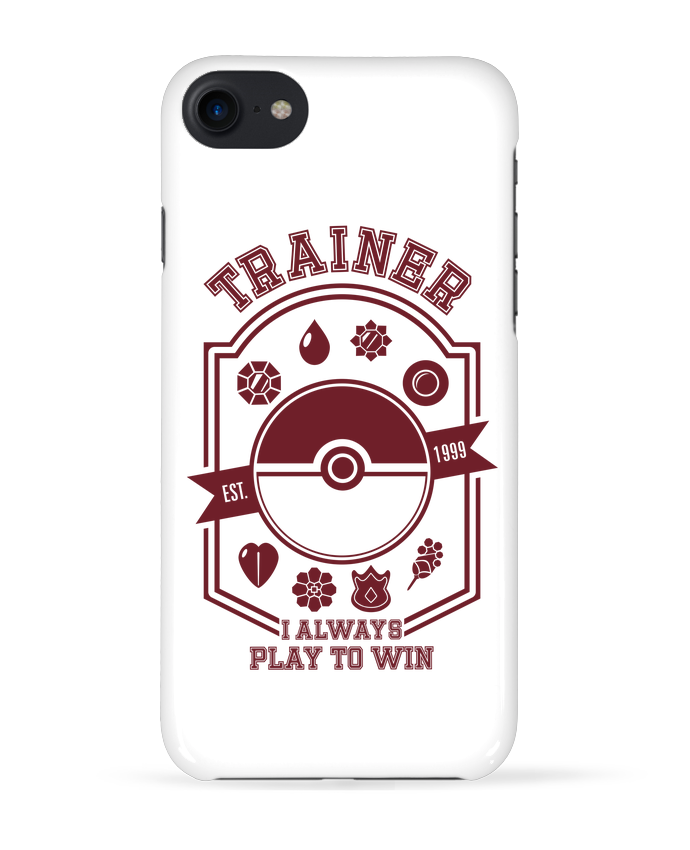 Coque 3D Iphone 7 Trainer since 1999 de Kempo24