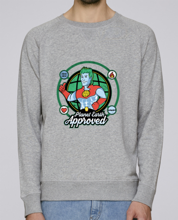 Sweat Col Rond Homme Stanley Strolls Planet Earth Approved par Kempo24