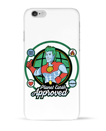 Coque 3D Iphone 6 Planet Earth Approved par Kempo24