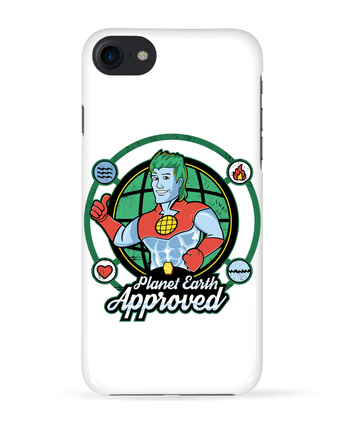 Coque 3D Iphone 7 Planet Earth Approved de Kempo24