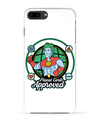 Coque 3D Iphone 7+ Planet Earth Approved par Kempo24
