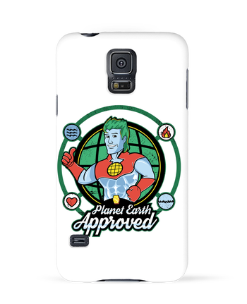 Coque 3D Samsung Galaxy S5 Planet Earth Approved par Kempo24