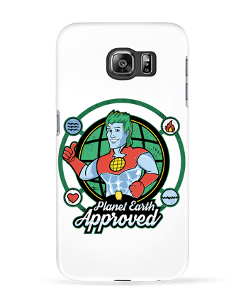 Coque 3D Samsung Galaxy S6 Planet Earth Approved - Kempo24
