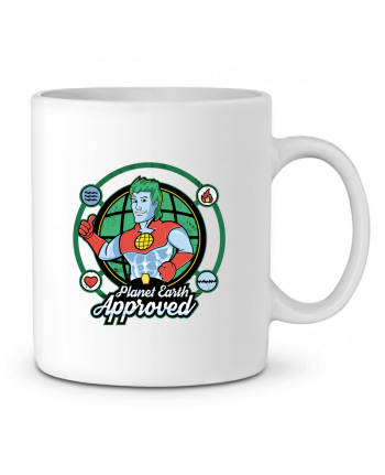 Mug en Céramique Planet Earth Approved par Kempo24