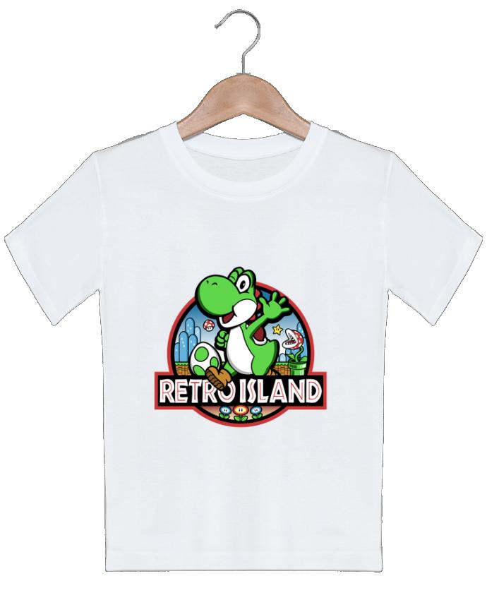 T-shirt garçon motif Retro Park Kempo24