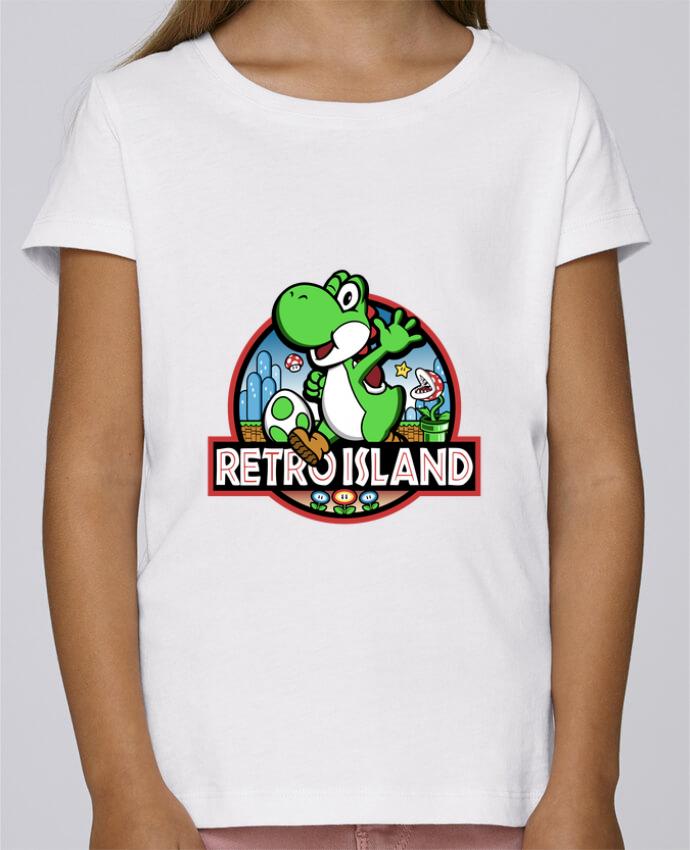 T-shirt Fille Mini Stella Draws Retro Park par Kempo24