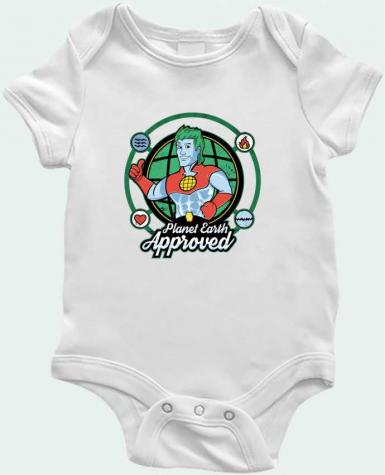 Body Bébé Planet Earth Approved par Kempo24