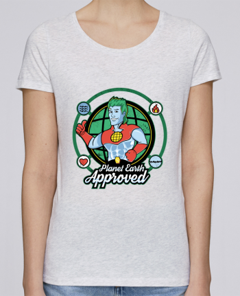 T-shirt Femme Stella Loves Planet Earth Approved par Kempo24