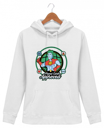 Sweat à Capuche Femme Planet Earth Approved - Kempo24