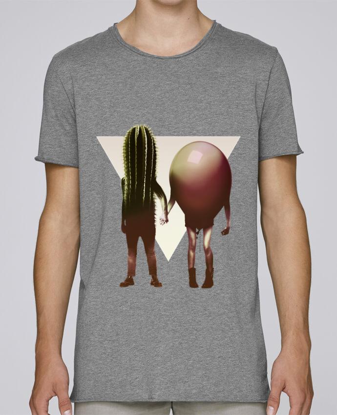 T-shirt Homme Oversized Stanley Skates Couple Hori par ali_gulec