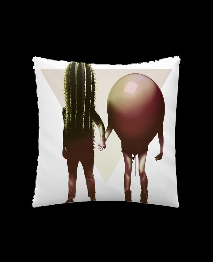 Coussin Synthétique Doux 41 x 41 cm Couple Hori par ali_gulec