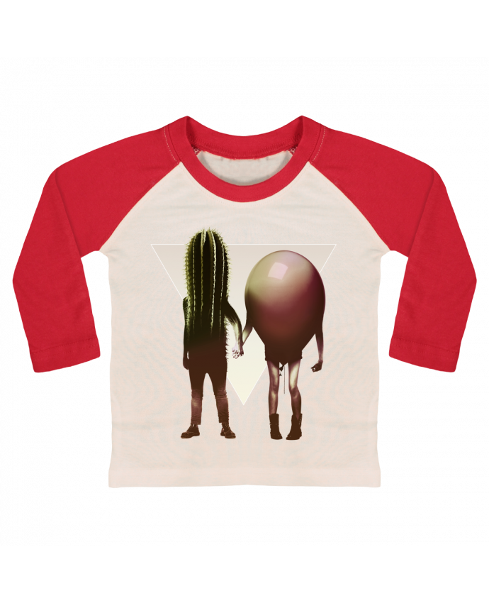 T-shirt Bébé Baseball Manches Longues Couple Hori par ali_gulec