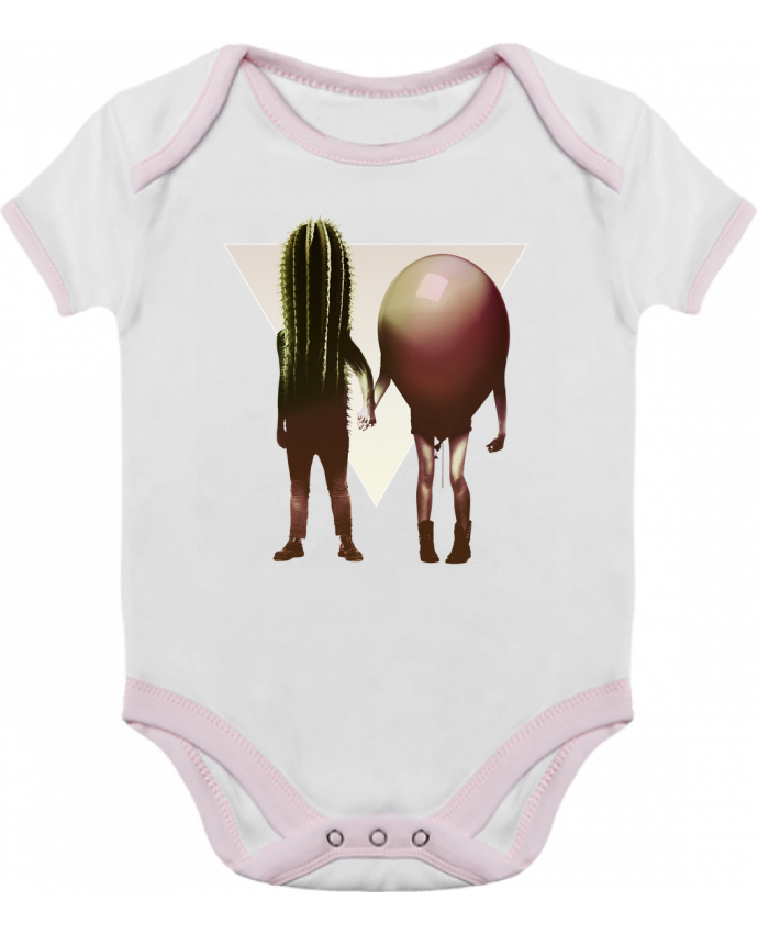 Body Bébé Contrasté Couple Hori par ali_gulec
