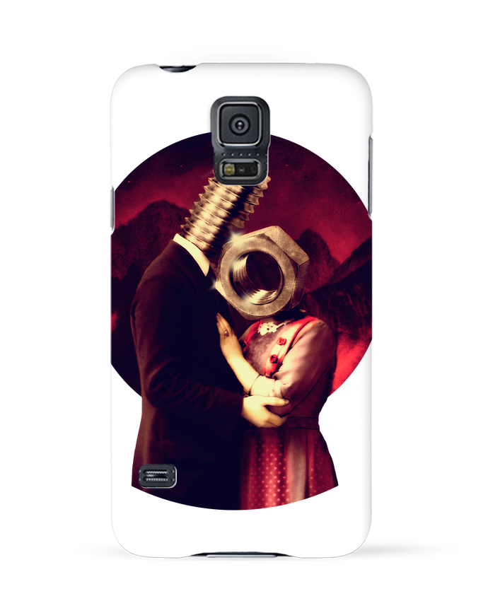 Coque 3D Samsung Galaxy S5 Screw Love par ali_gulec