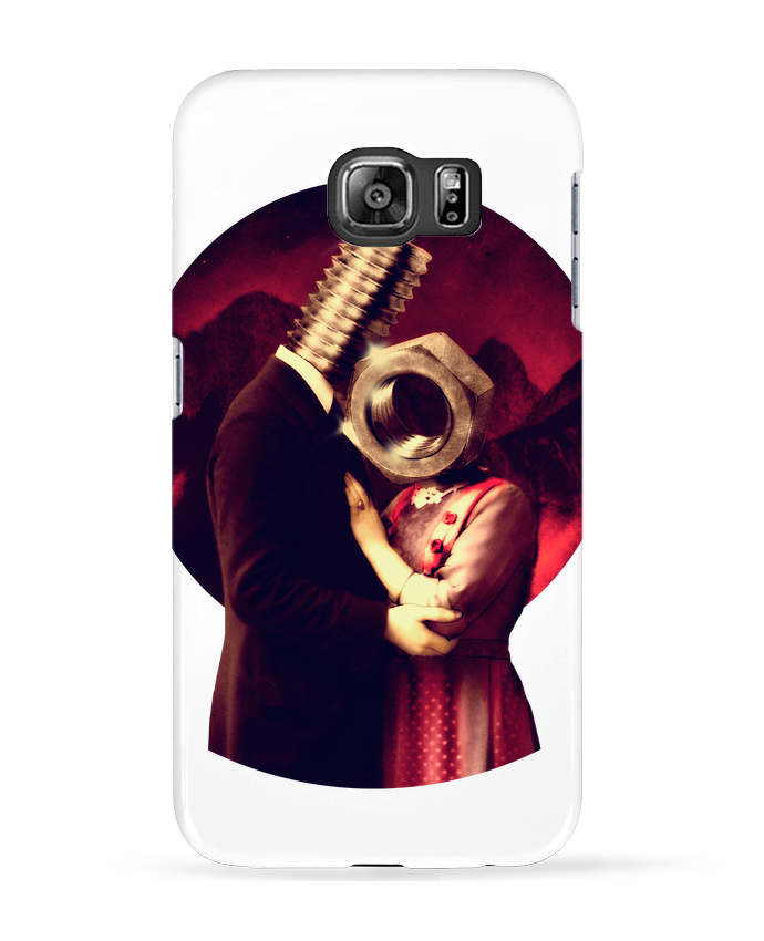 Coque 3D Samsung Galaxy S6 Screw Love - ali_gulec