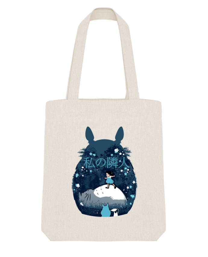 Tote Bag Stanley Stella My neighbour night par Kempo24