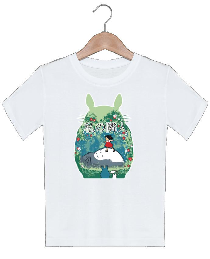 T-shirt garçon motif My neighbor Kempo24