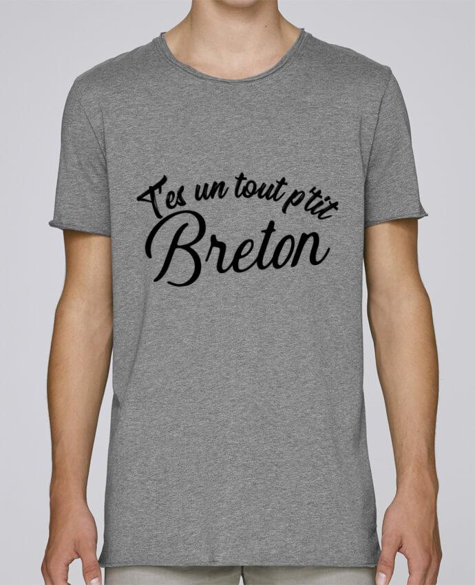 T-shirt Homme Oversized Stanley Skates P'tit breton cadeau par Original t-shirt