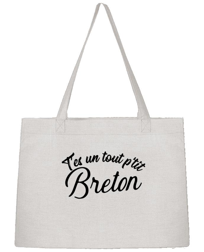 Sac Cabas Shopping Stanley Stella P'tit breton cadeau par Original t-shirt