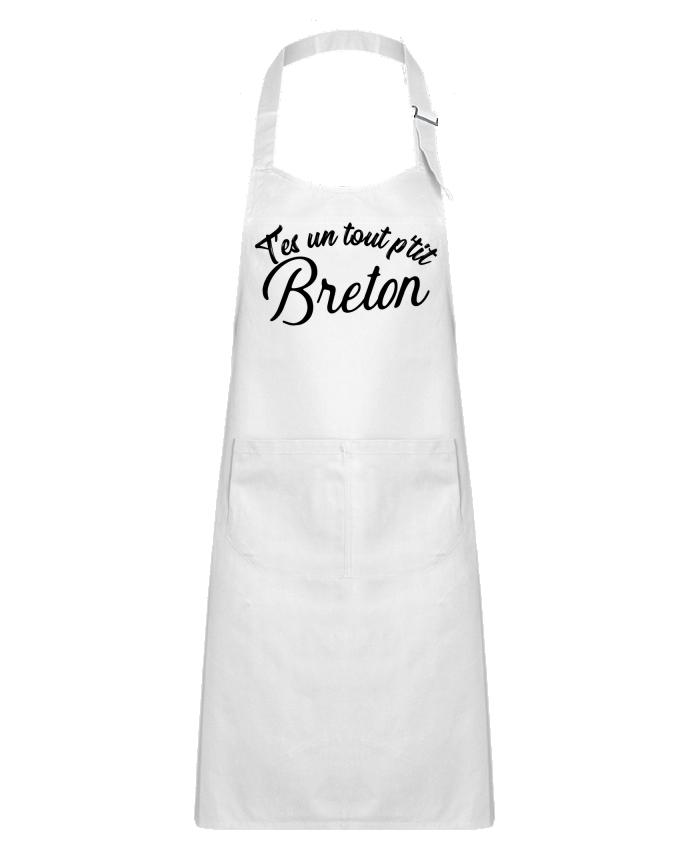 Tablier Enfant avec Poche P'tit breton cadeau par Original t-shirt