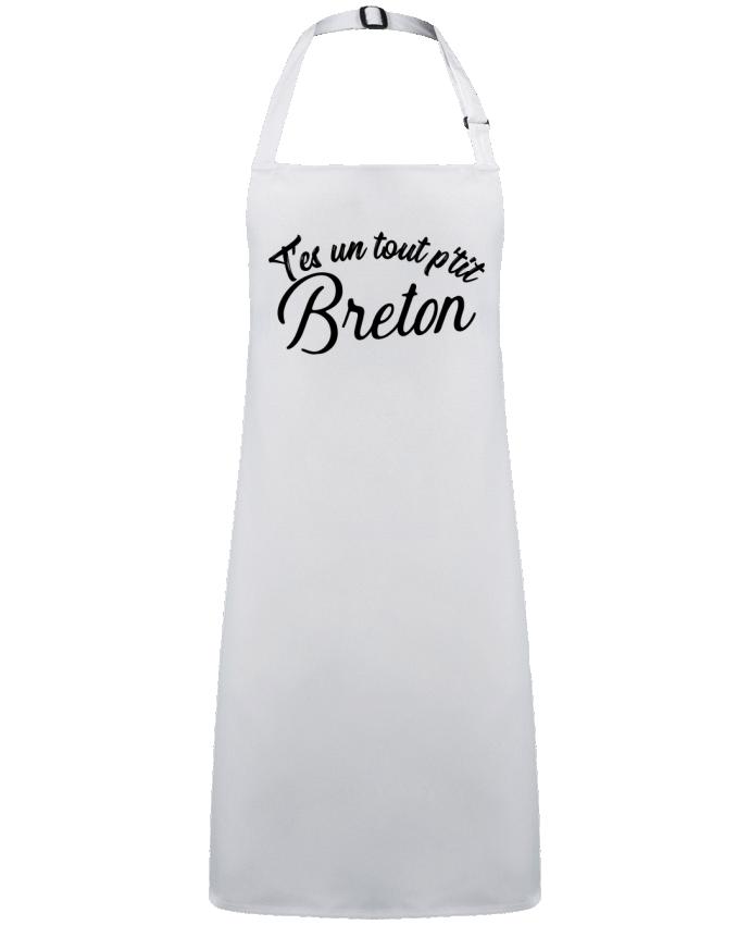 Tablier Sans Poche P'tit breton cadeau par  Original t-shirt
