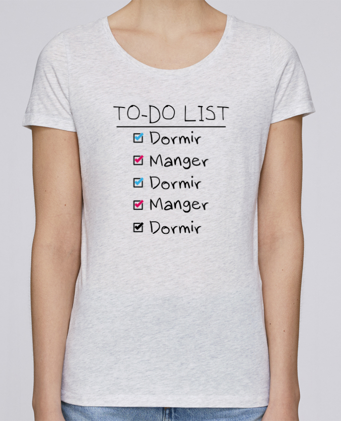 T-shirt Femme Stella Loves To do liste par tunetoo