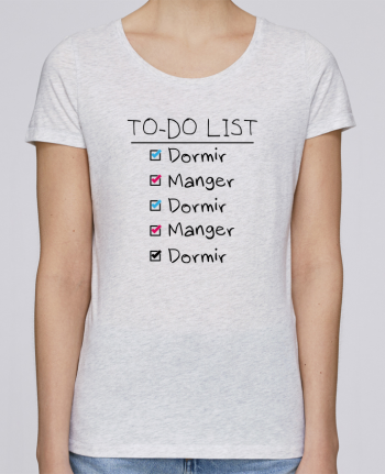 T-shirt Femme Stella Loves To do liste par tunetoo