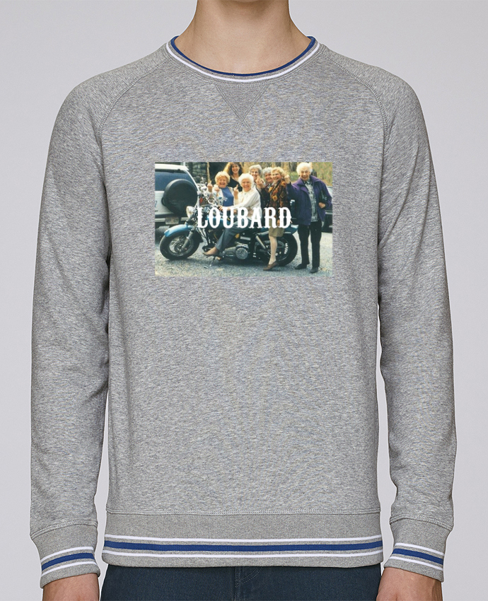 Sweat Col Rond Homme Stanley Strolls Tipped Loubard par Ruuud
