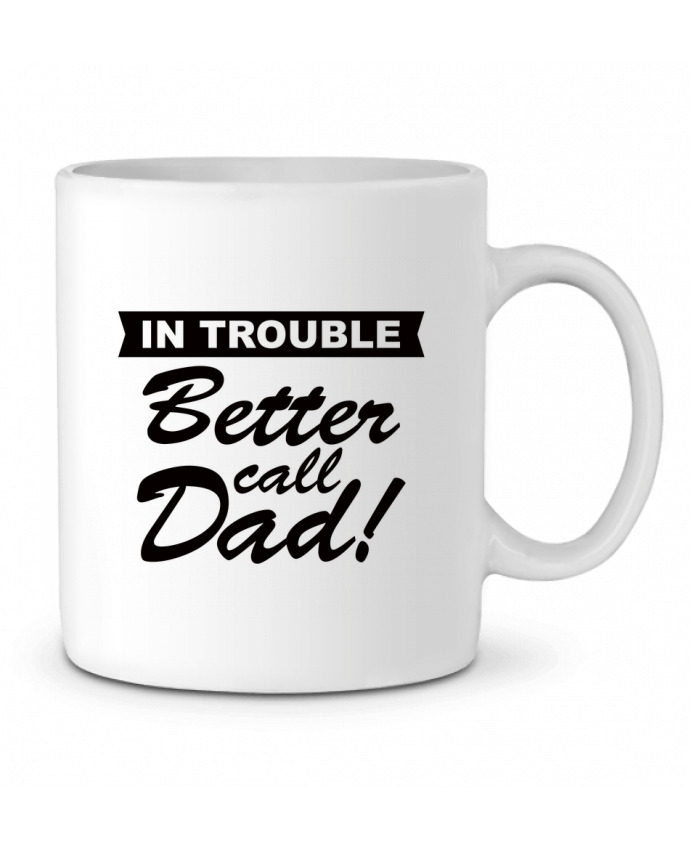 Mug en Céramique Better call dad par Freeyourshirt.com