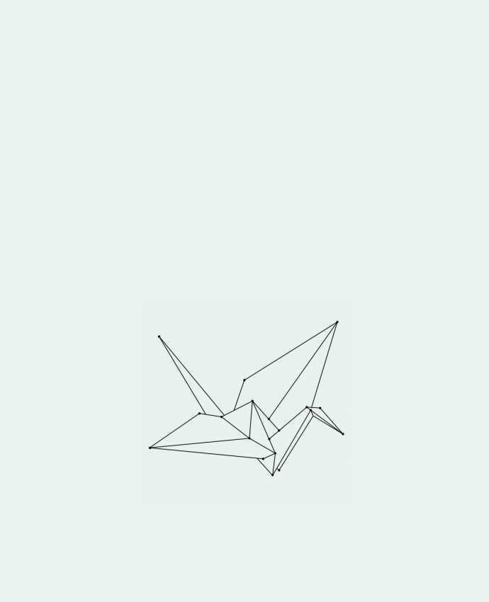 Sac en Toile Coton Origami bird par /wait-design