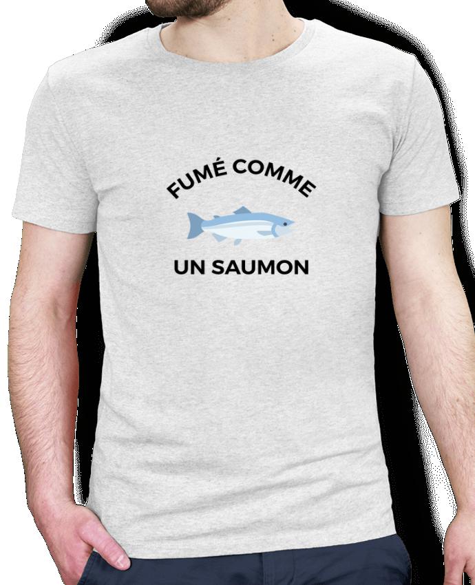 T-Shirt Homme Stanley Hips fumé comme un saumon Ruuud -Tunetoo a86d730596ef