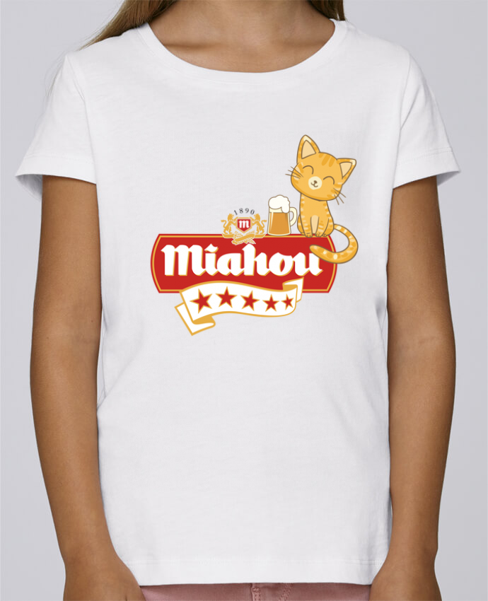 T-shirt Fille Mini Stella Draws Miahou par ParanoiaRecords
