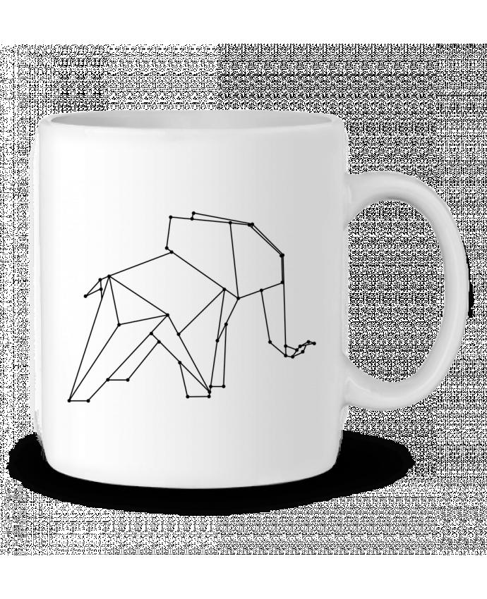 Mug en Céramique Origami elephant par /wait-design