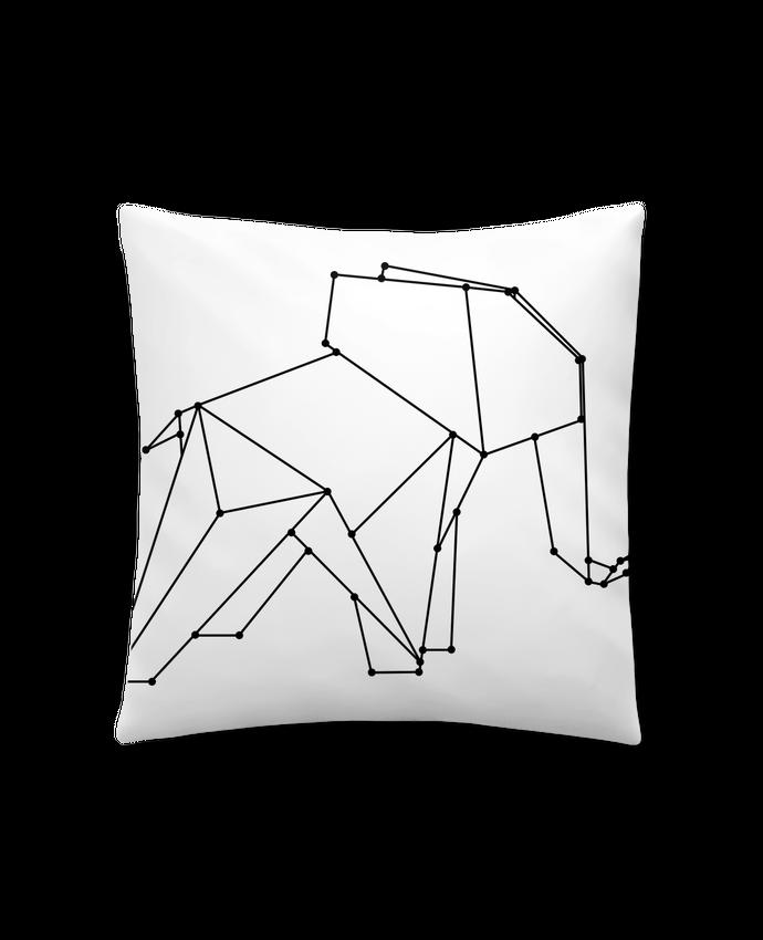 Coussin Synthétique Doux 41 x 41 cm Origami elephant par /wait-design