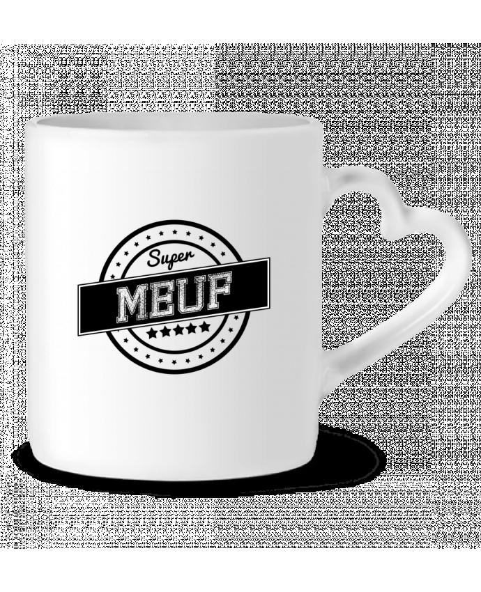 Mug Coeur Super meuf par justsayin